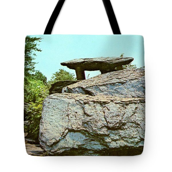 Jefferson Rock  Tote Bag by Ruth  Housley