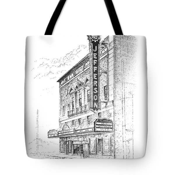 Jefferson Theatre Tote Bag