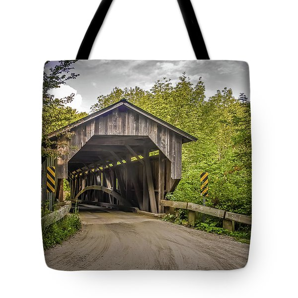 Jeffersonville Covered Bridge Tote Bag