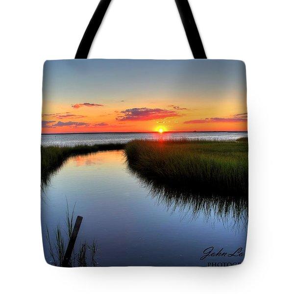 Jeffres Reflections Tote Bag by John Loreaux