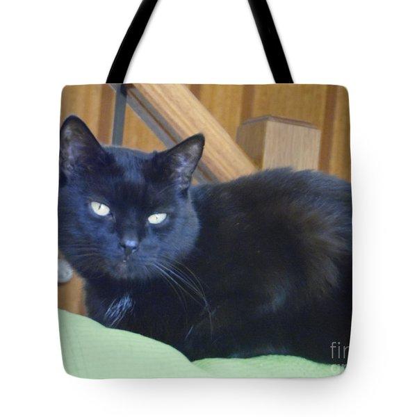 Jeffrey The Cat Tote Bag
