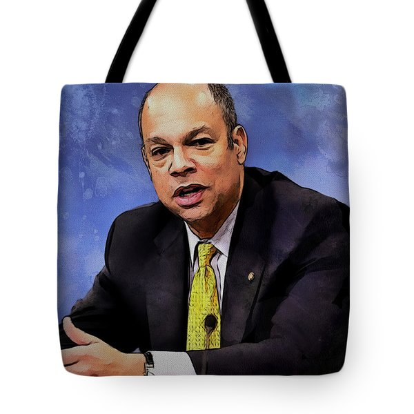 Jeh Johnson Tote Bag