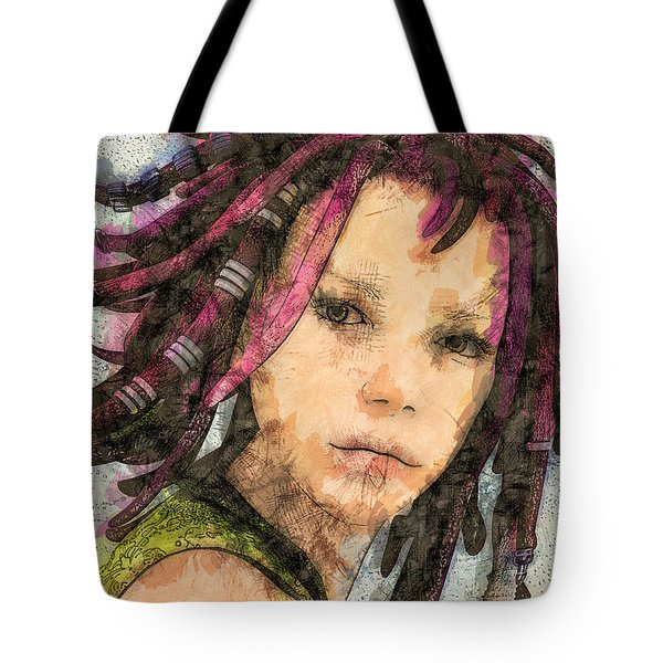 Jehanne Tote Bag by Jutta Maria Pusl