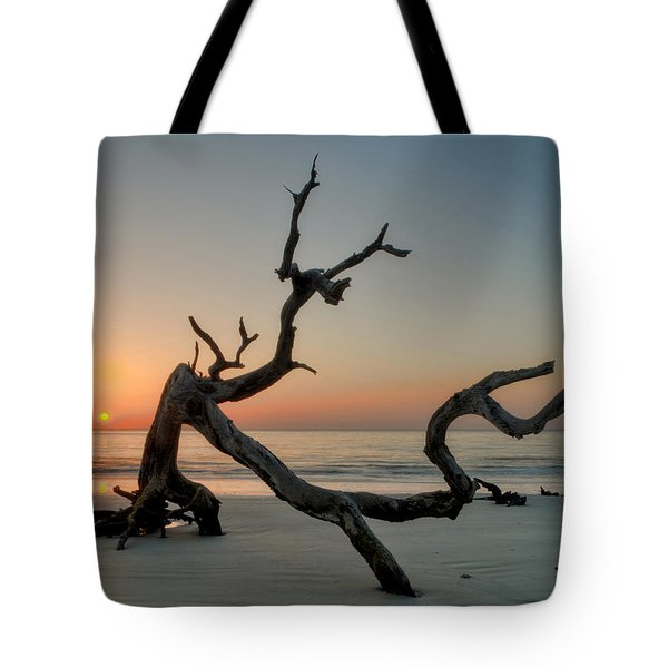 Jekyll Island Driftwood Tote Bag