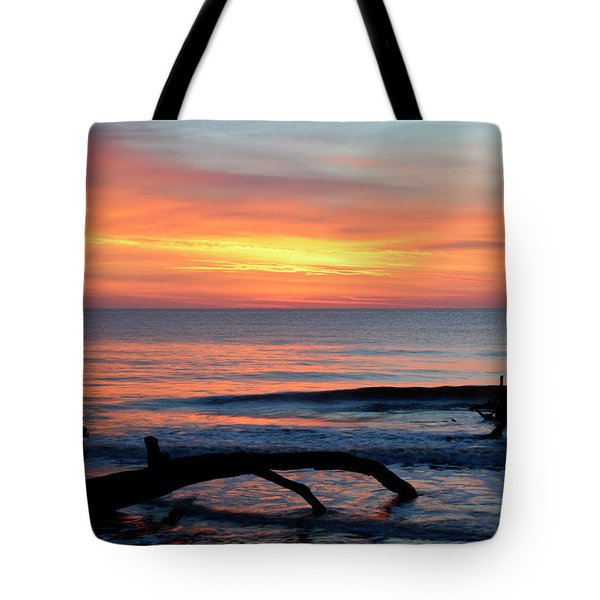 Tote Bag featuring the photograph Jekyll Island Sunrise 2016b by Bruce Gourley