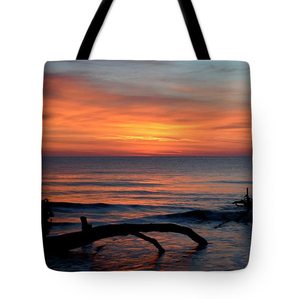 Tote Bag featuring the photograph Jekyll Island Sunrise 2016c by Bruce Gourley