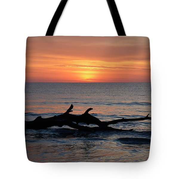 Tote Bag featuring the photograph Jekyll Island Sunrise 2016d by Bruce Gourley