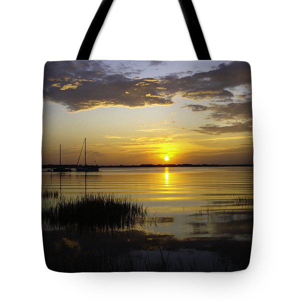 Jekyll Island Sunset Tote Bag