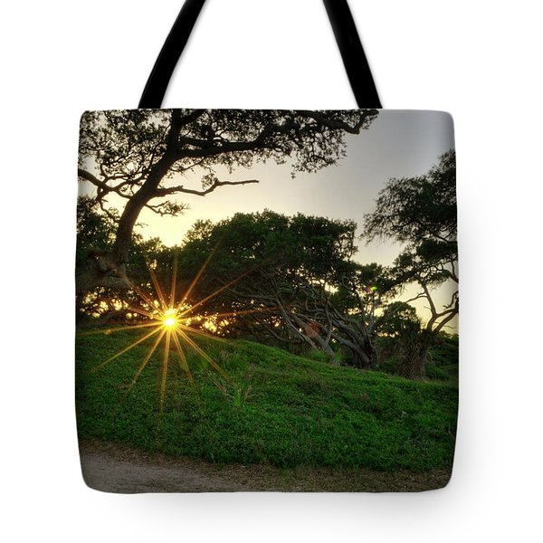 Jekyll Sunset Tote Bag