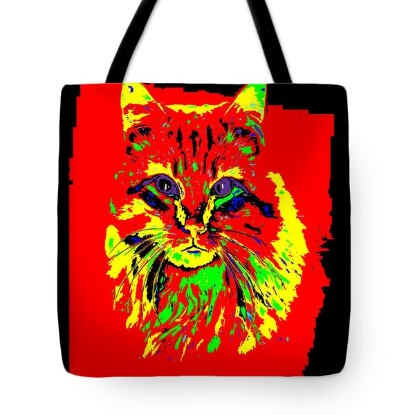 Jekyll The Cat Tote Bag