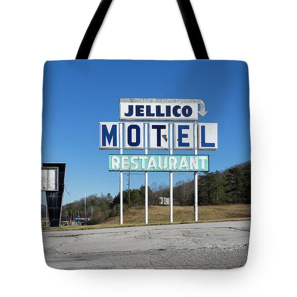 Jellico Motel Tote Bag