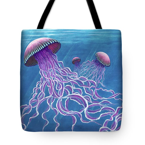 Jellies 2 Tote Bag by Rebecca Parker