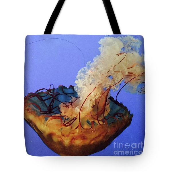 Jelly Ballet Tote Bag by Beth Saffer