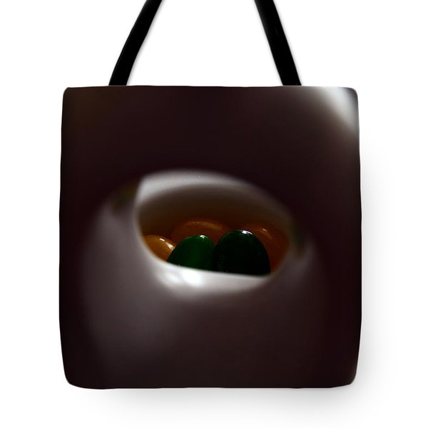 Jelly Bean Buddha Tote Bag