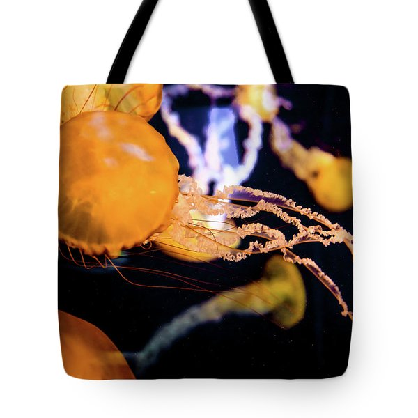 Tote Bag featuring the photograph Jelly Storm by T A Davies