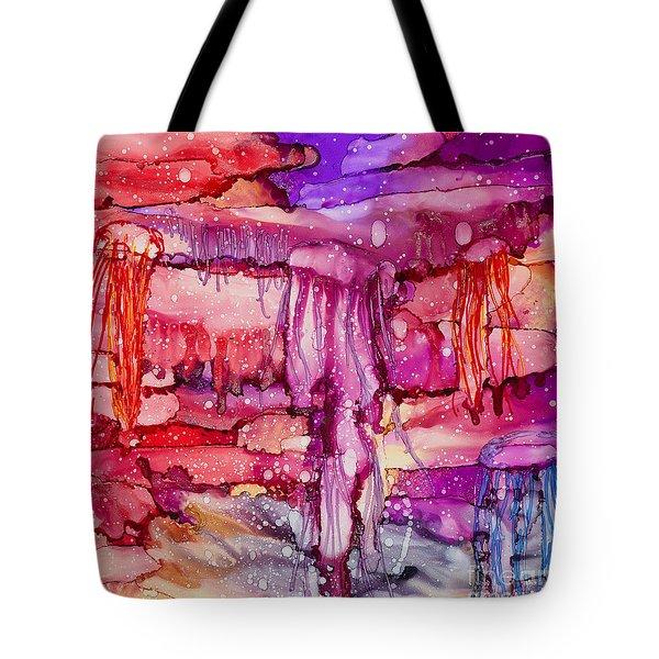Jellyfish Tote Bag by Alene Sirott-Cope