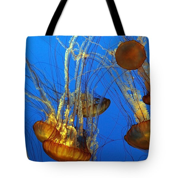 Jellyfish Family Tote Bag