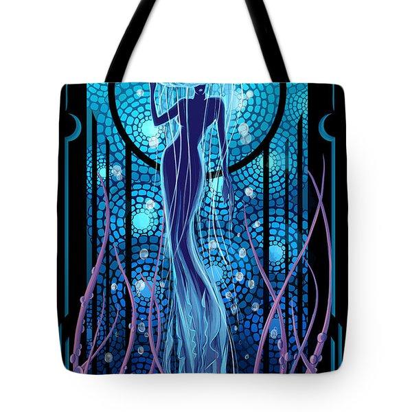 Jellyfish Mermaid Tote Bag