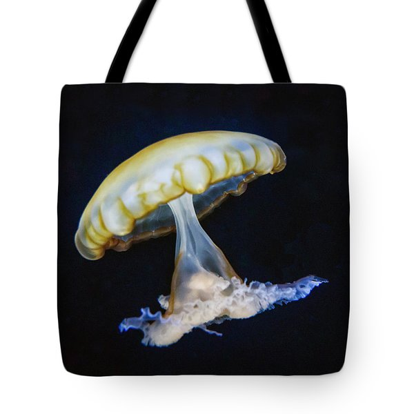 Jellyfish No. 1 Tote Bag by Alan Toepfer