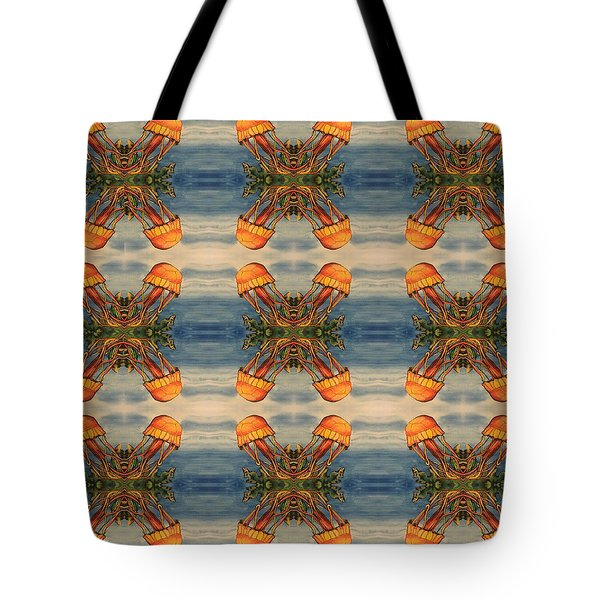 Jellyfish Pattern Tote Bag