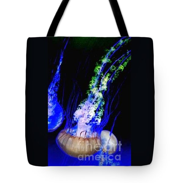 Jellypower Tote Bag by Vanessa Palomino