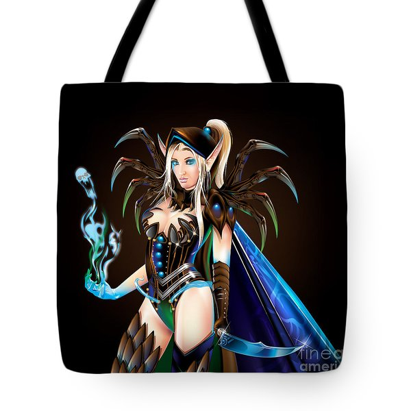 Jemma Blood Elf Tote Bag by Brian Gibbs