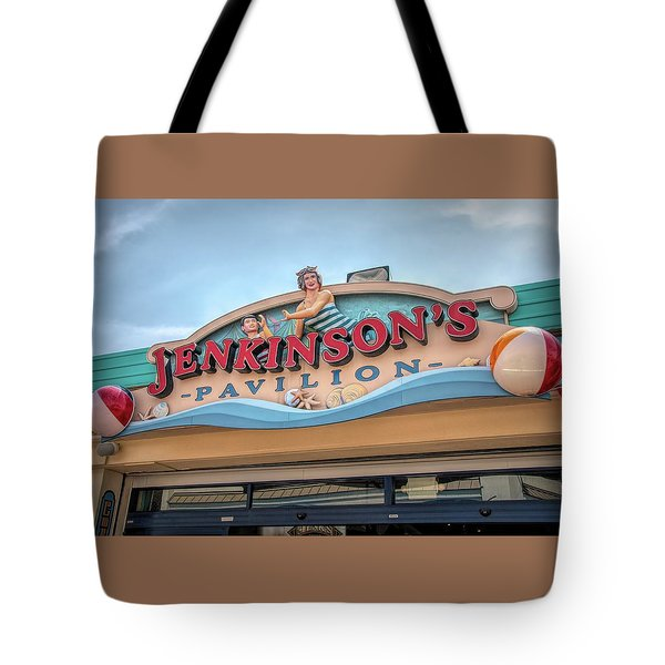 Tote Bag featuring the photograph Jenkinson's Pavilion by Kristia Adams