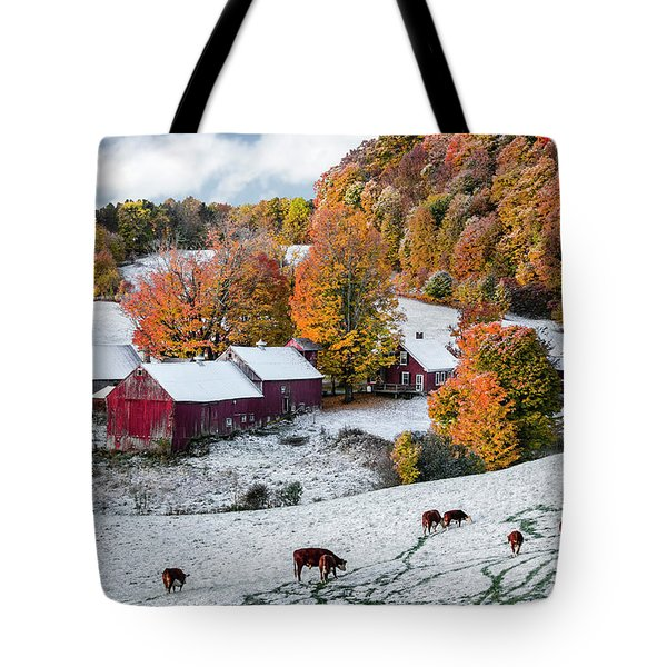Jenne Farm, Reading, Vt Tote Bag