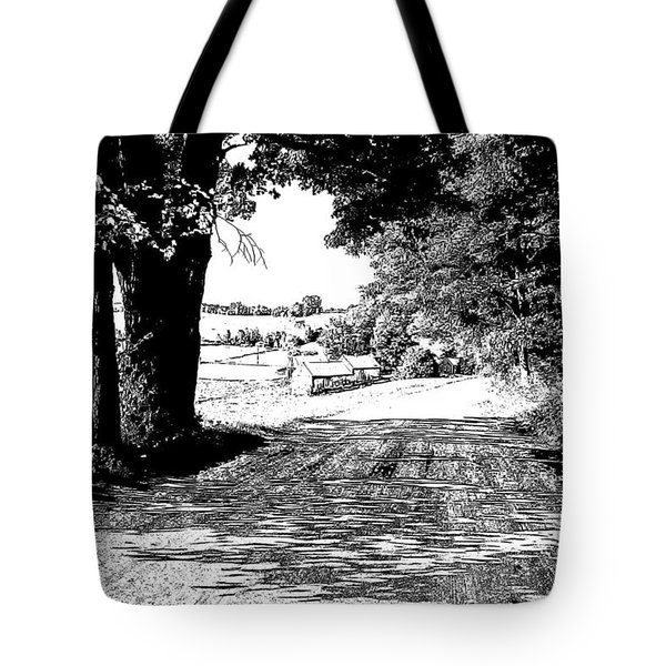 Jenne Farm Sketch Tote Bag