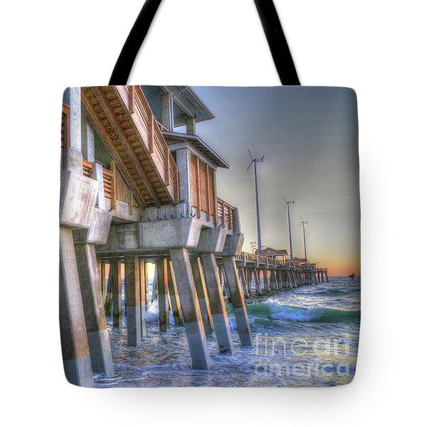 Jennette's Pier Tote Bag