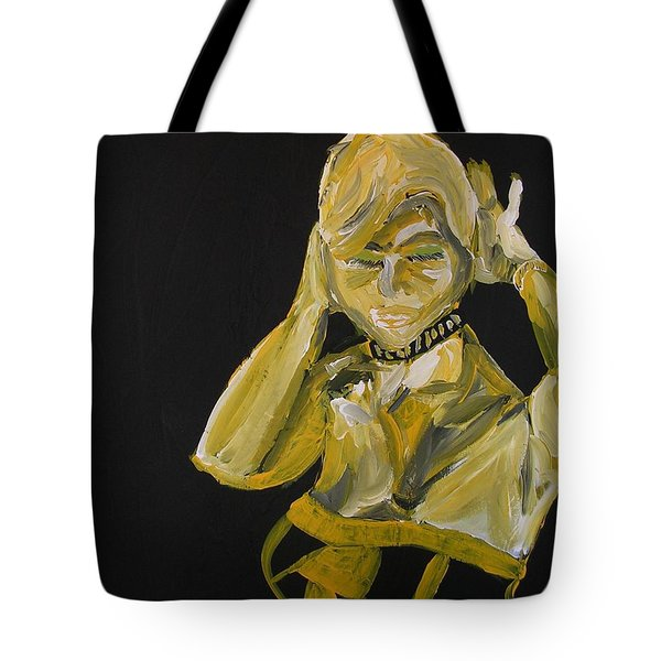 Tote Bag featuring the painting Jennifer by Joshua Redman