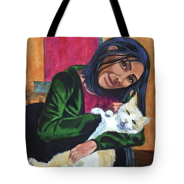 Jenny And Rogan Tote Bag