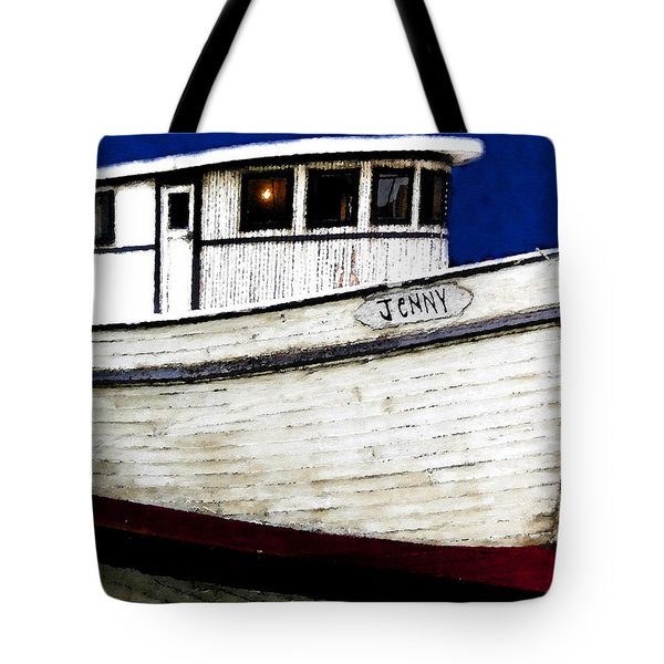 Jenny Tote Bag by David Lee Thompson