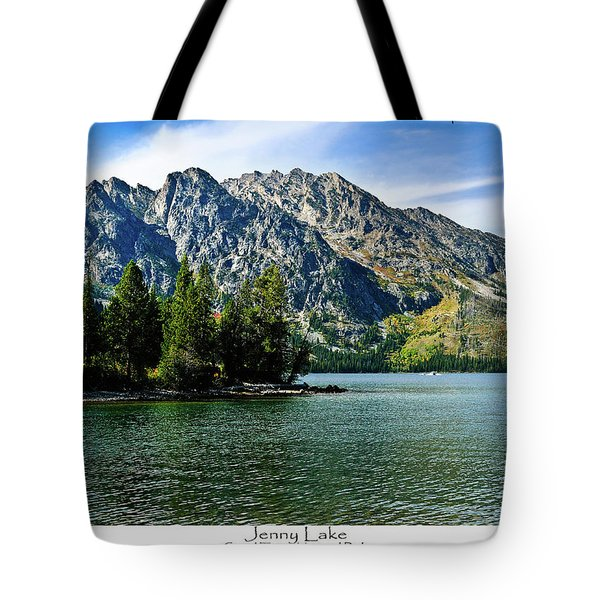 Jenny Lake Tote Bag by Greg Norrell
