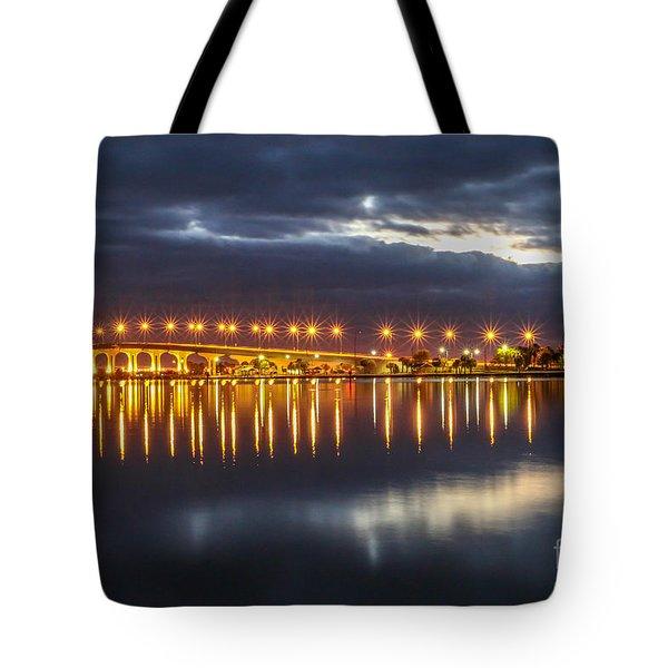 Jensen Beach Causeway #5 Tote Bag