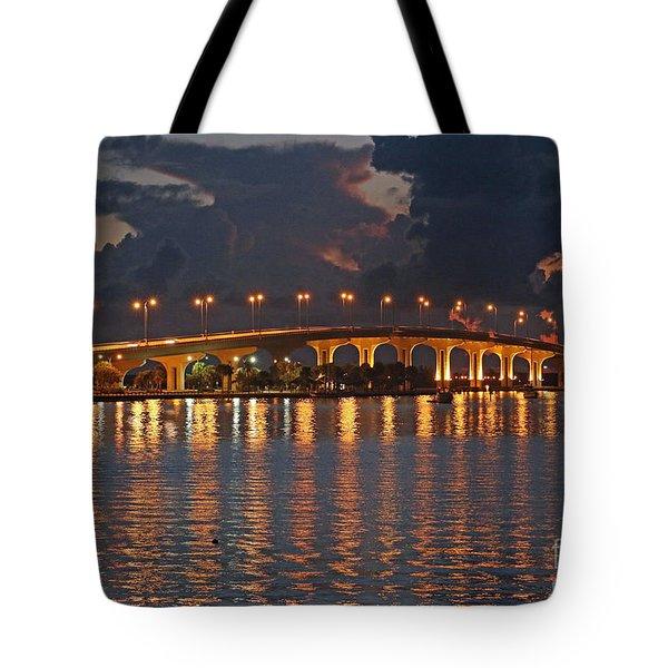 Jensen Beach Causeway Tote Bag