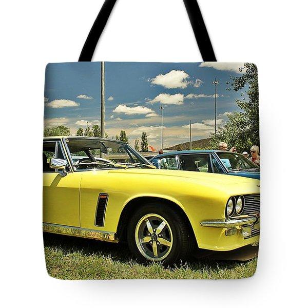 Jensen Interceptor Tote Bag