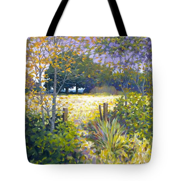 Jeremiahs Field Tote Bag by Kevin Lawrence Leveque