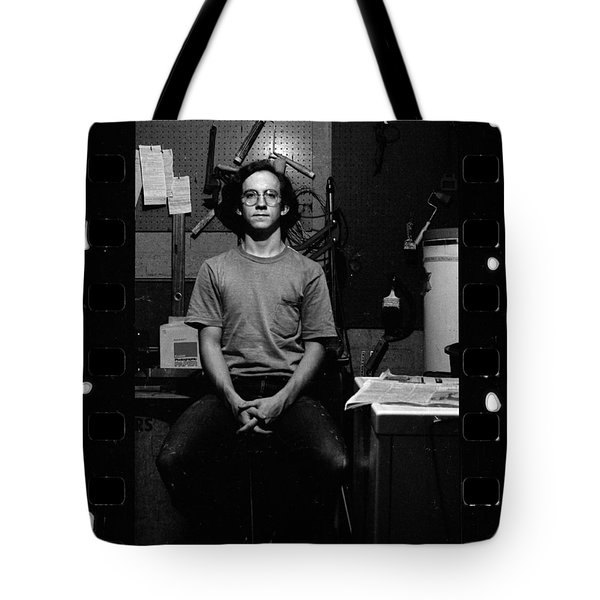 Self Portrait, In Darkroom, 1972 Tote Bag
