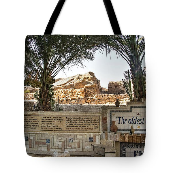 Tote Bag featuring the photograph Jerico by Mae Wertz