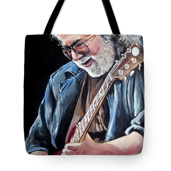 Jerry Garcia - The Grateful Dead Tote Bag