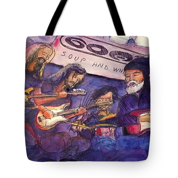 Jerry Joseph And The Jackmormons Tote Bag by David Sockrider