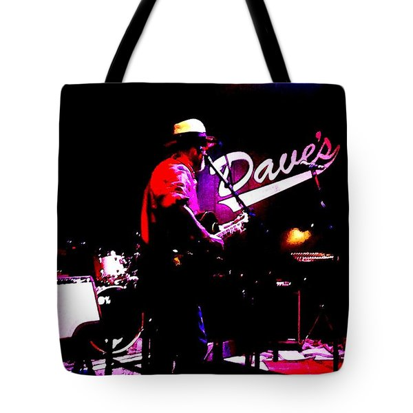Tote Bag featuring the photograph Jerry Miller - Moby Grape Man 3 by Sadie Reneau