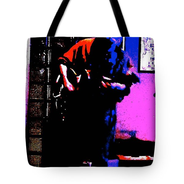 Tote Bag featuring the photograph Jerry Miller - Moby Grape Man 4 by Sadie Reneau