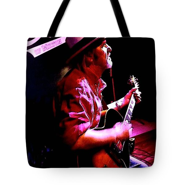 Tote Bag featuring the photograph Jerry Miller - Moby Grape Man 5 by Sadie Reneau