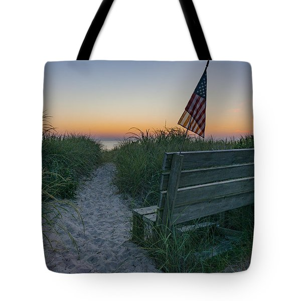 Jerry's Bench Tote Bag
