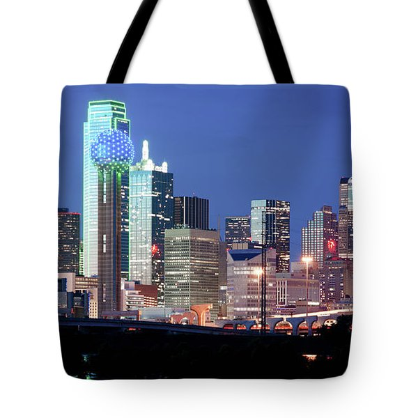 Jerry's Dallas Skyline Tote Bag