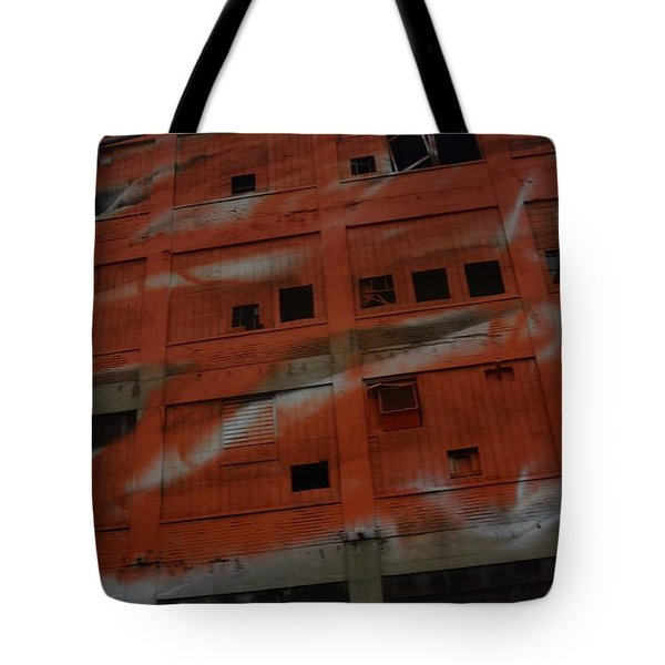 Jersey Building Trainview Tote Bag