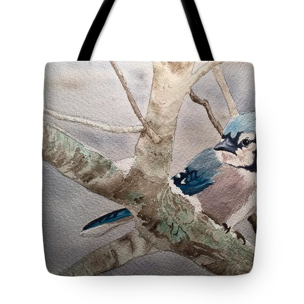 Cold Winter's Jay Tote Bag