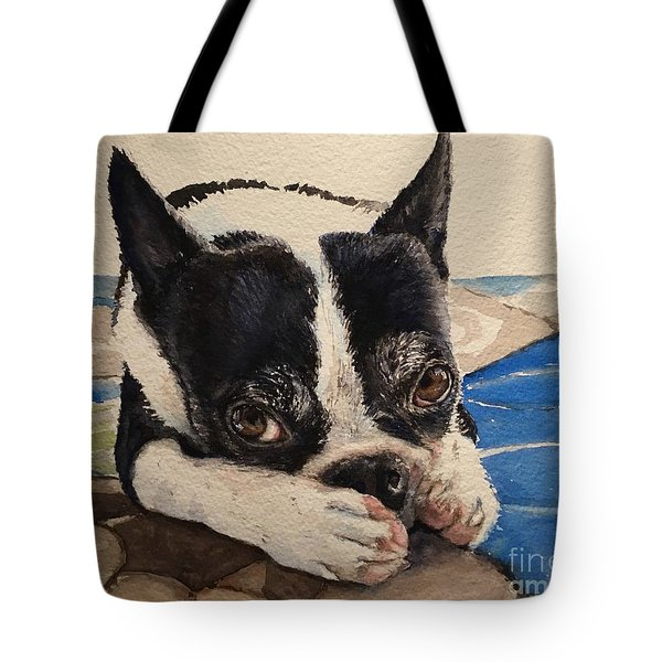 Jersey Tote Bag